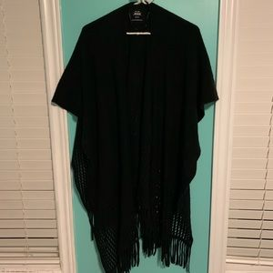 Back Knitted Shawl